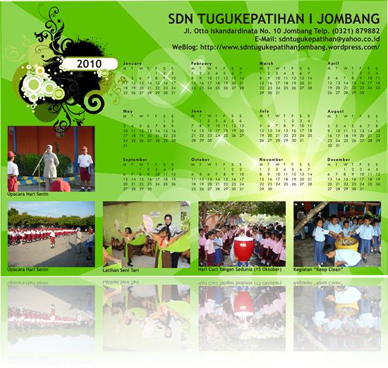 Kalender 2010 SDN Tugukepatihan I Jombang 2